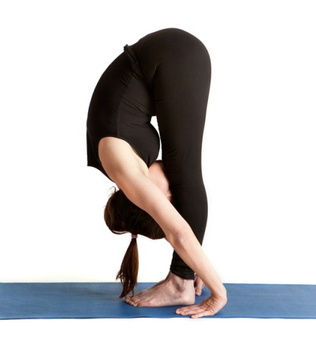Standing Forward Bend or (Uttanasana)